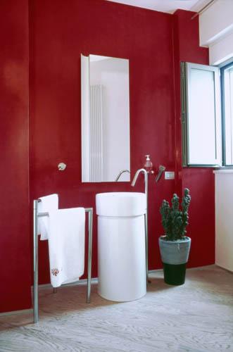 Bagni in resina colori confortevole soggiorno nella casa - Resina per pareti bagno ...